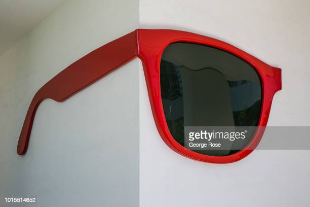 Contemporary art installation at the Hammer Museum on Wilshire Blvd in Westwood Village is viewed on August 7, 2018 in Los Angeles, California....