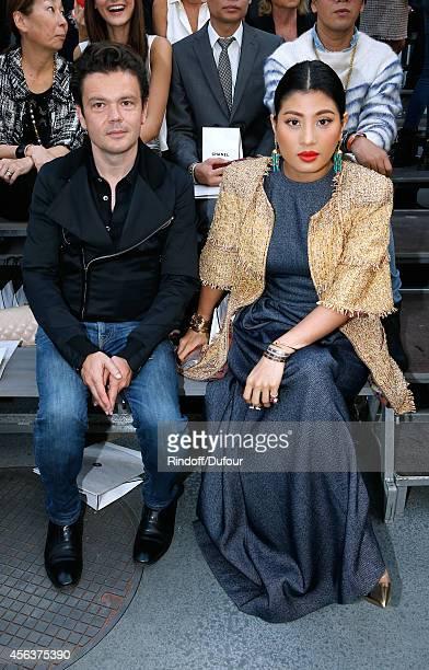 Contemporary Artist JeanMichel Othoniel and Princess of Thailand Sirivannavari Nariratana attend the Chanel show as part of the Paris Fashion Week...