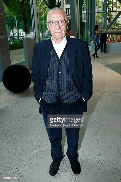 Contemporary artists Alessandro Mendini attends the 'Fondation Cartier pour l'art contemporain' celebrates its 30th anniversary on May 8 2014 in...