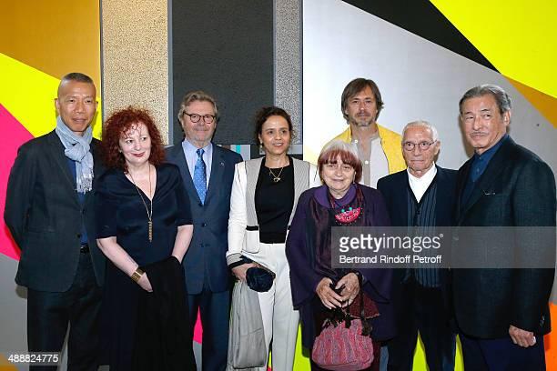 Contemporary artists GuoQiang Cai photographer Nan Goldin founder of 'Fondation Cartier' Alain Dominique Perrin Brazilian Artist Beatriz Milhazes...