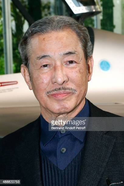 Contemporary artists Issey Miyake attends the 'Fondation Cartier pour l'art contemporain' celebrates its 30th anniversary on May 8 2014 in Paris...