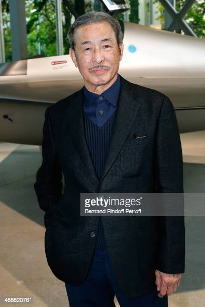 Contemporary artists Issey Miyake attends the 'Fondation Cartier pour l'art contemporain' celebrates its 30th anniversary on May 8, 2014 in Paris,...