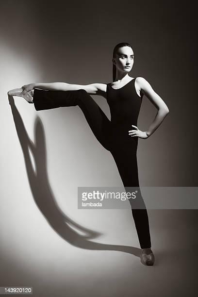 Contemporary ballet dancer