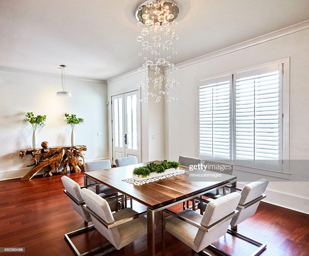 Contemporary Dinning Room : Stock Photo