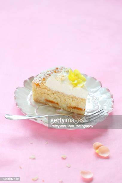 Contemporary Easter Coconut Tart