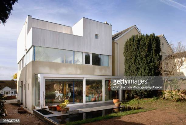 A contemporary geometric home in Exeter UK