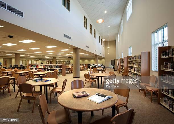 Contemporary High School Library