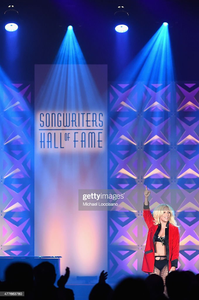 Contemporary Icon Award Recipient Lady Gaga performs onstage at the Songwriters Hall Of Fame 46th Annual Induction And Awards at Marriott Marquis Hotel on June 18, 2015 in New York City.