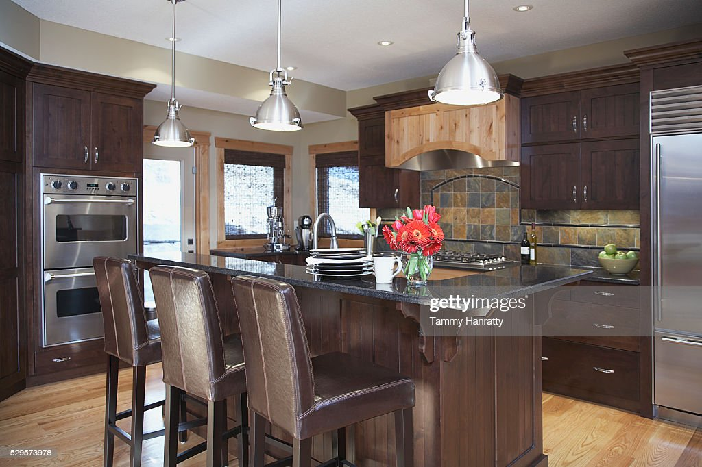 Contemporary kitchen : Stock Photo