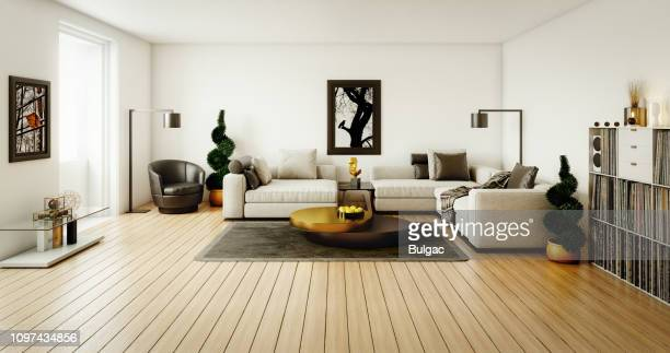 contemporary living room - beige stock pictures, royalty-free photos & images