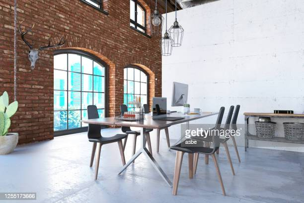 contemporary loft office picture