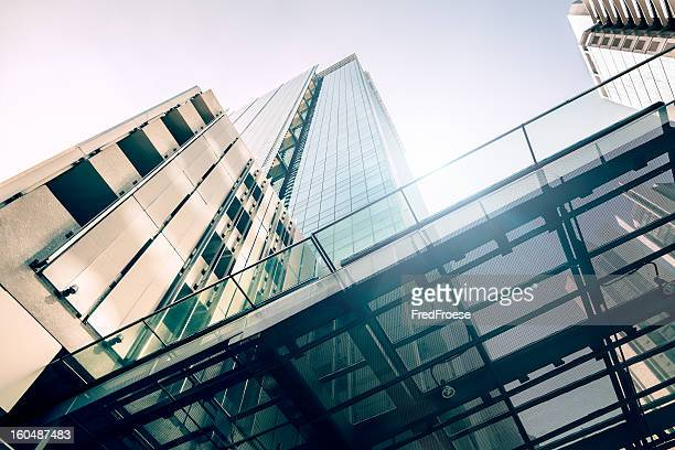 contemporary office building - generic location stock pictures, royalty-free photos & images