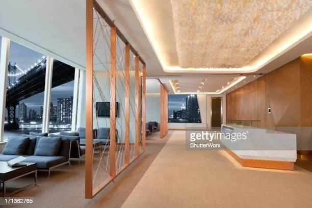 Contemporary Office Lobby