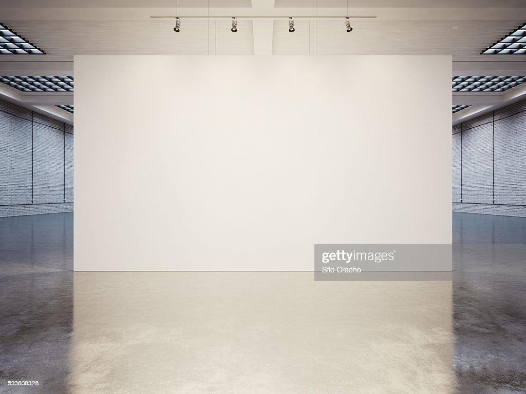 Contemporary open plan interior : Foto stock