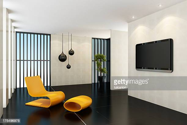 Contemporary TV Room