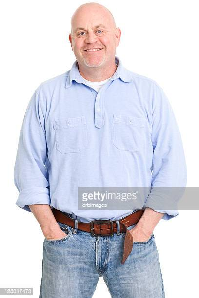 Content Man With Hands In Pockets
