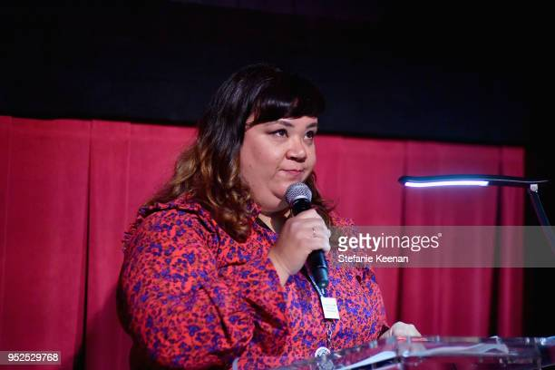 Content Manager Turner Classic Movies and FilmStruck Millie De Chirico attends the screening of 'The Story of GI Joe' during day 3 of the 2018 TCM...