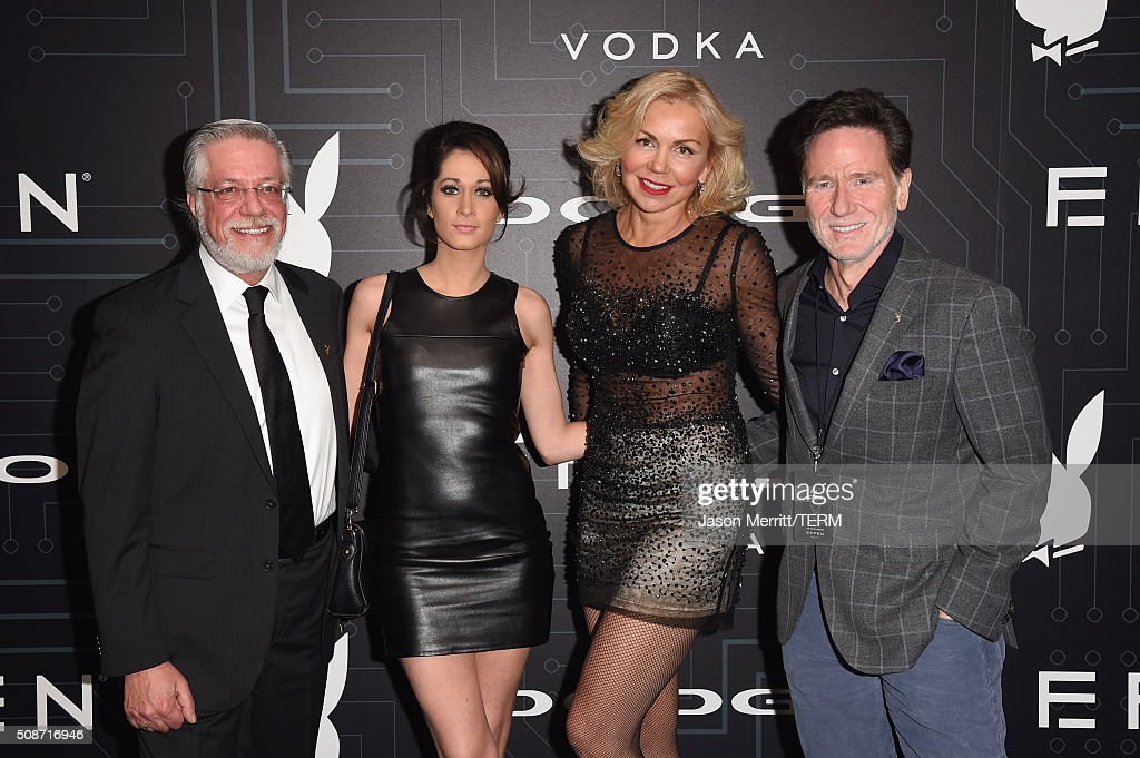 SVP Content Rights and Licensing for Playboy Enterprises Inc. Mike Violano, COO & President, Playboy Media David Israel (R) and guests arrive at The Playboy Party during Super Bowl Weekend, which celebrated the future of Playboy and its newly redesigned magazine in a transformed space within Lot A of AT&T Park on February 5, 2016 in San Francisco, California.