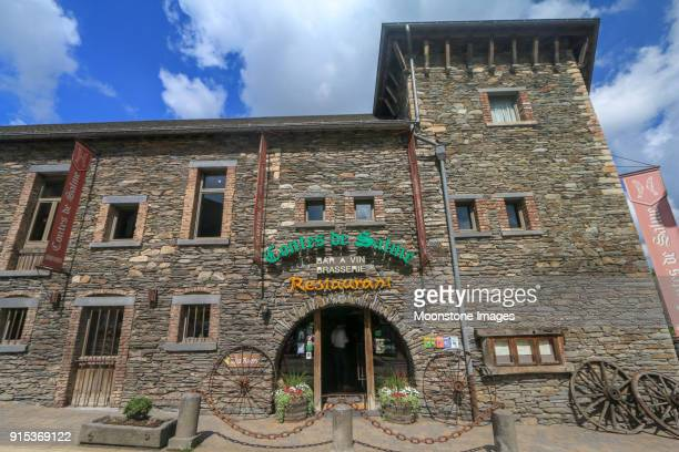 contes de salme in vielsalm, belgium - brasserie stock pictures, royalty-free photos & images