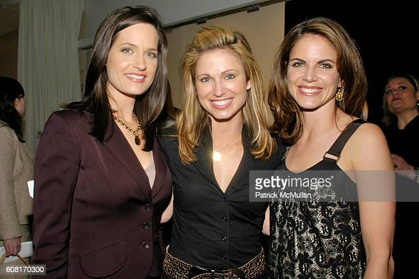 Contessa Brewer Amy Robach and Natalie Morales attend Cocktail Party Celebrating FOOD CURES by The Today Show's Nutritionist JOY BAUER Hosted by...