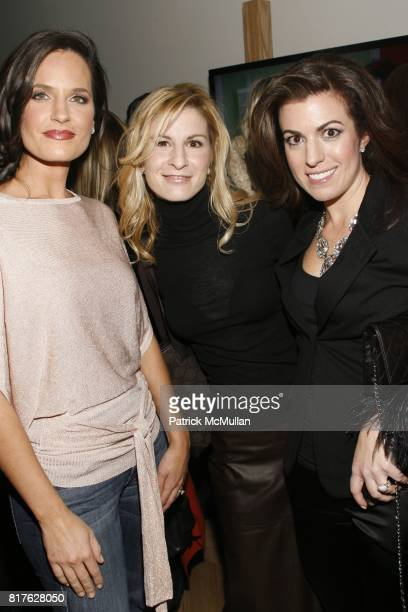 Contessa Brewer Erin Brine and Kristin Malaspina attend Time Warner Cable Celebrated The Launch of New Signaturehome Suite of Services at The...