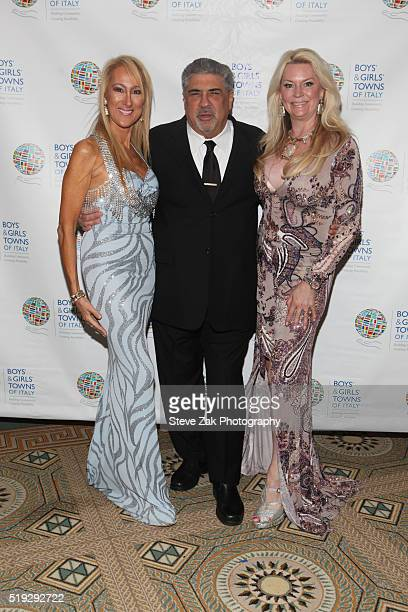 Contessina Francesca Braschi Vincent Pastore and Jackie Siegal attend The Boys' Girls' Towns of Italy's 2016 New York Spring Ball at The Pierre Hotel...