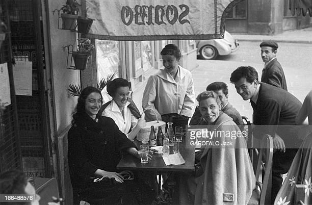 Contest Of The Conservatory 4 Juillet 1956 JeanPaul BELMONDO ne reçoit que le prix du premier accessit de comédie pour 'Amour et piano' de Feydeau...