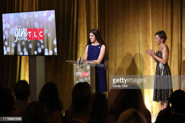 Contest winner Danica Roem speaks onstage during TLC's Give A Little Awards 2019 on October 02 2019 in New York City