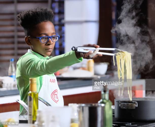 Contestant Aaron in the Junior Edition Off the Hook episode of MASTERCHEF airing Tuesday March 26 on FOX