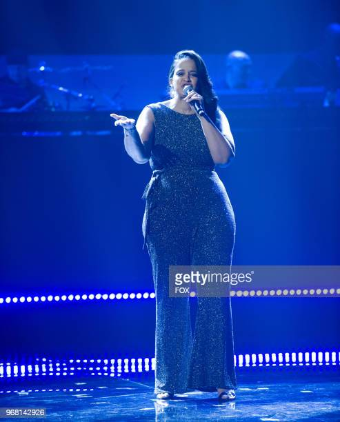 Contestant Antionette Herring in the Week 8 episode of SHOWTIME AT THE APOLLO airing Thursday April 19 on FOX