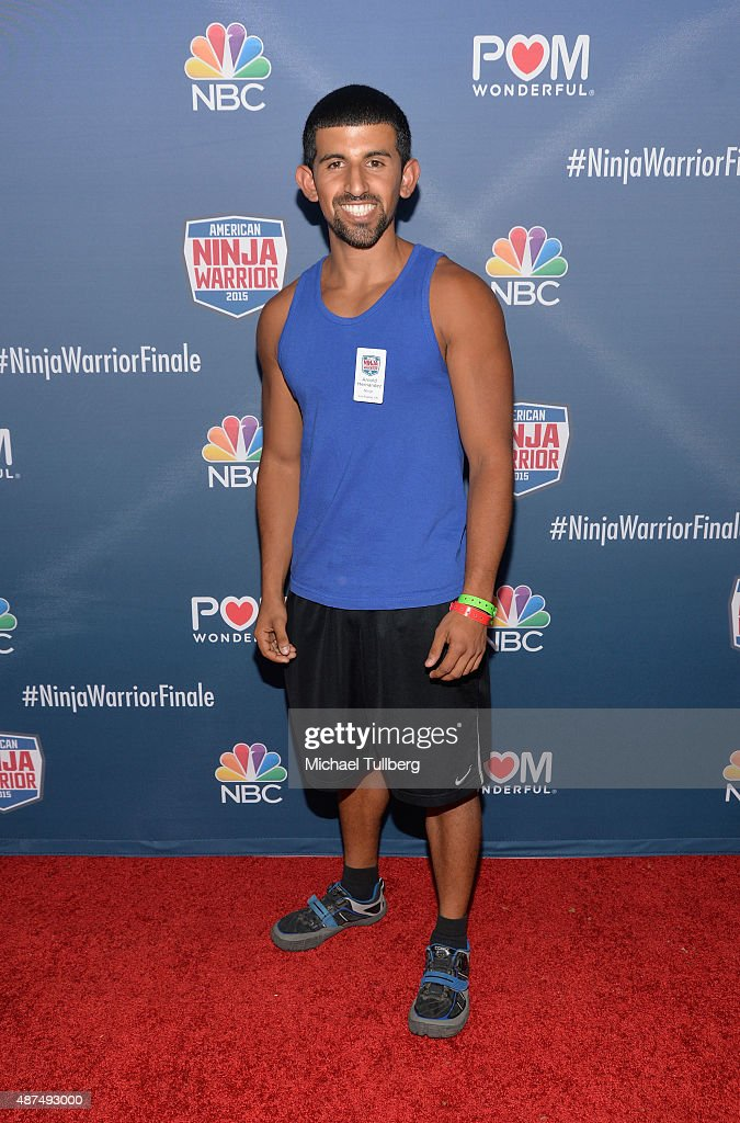 Contestant Arnold Hernandez attends NBC's 'American Ninja Warrior' Season 7 Finale at The Autry National Center on September 9, 2015 in Los Angeles, California.