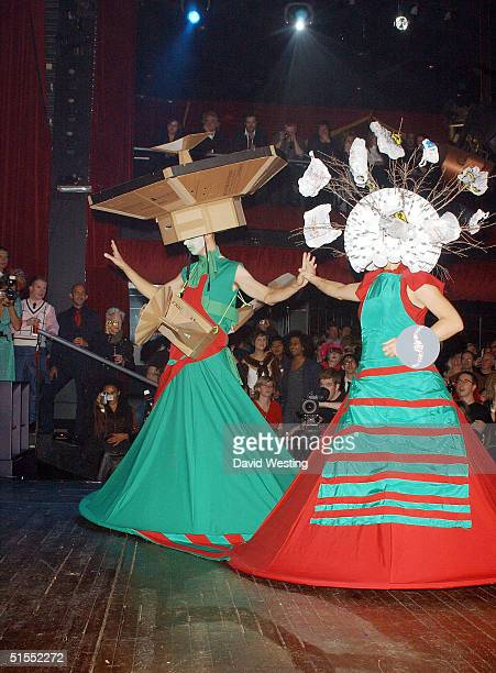 A contestant attends the Alternative Miss World the Club Cirque on October 22 2004 in London A panel of judges choose one winner from fifteen...