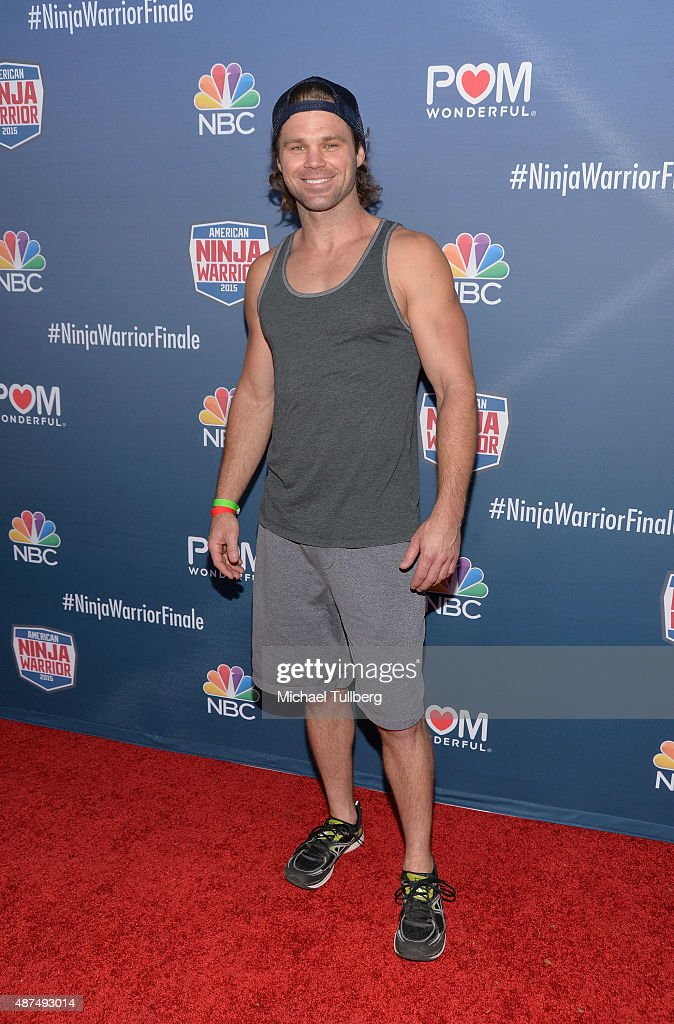 Contestant Ben Melick attends NBC's 'American Ninja Warrior' Season 7 Finale at The Autry National Center on September 9, 2015 in Los Angeles, California.