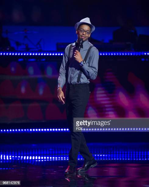 Contestant Brian Doby in the Week 8 episode of SHOWTIME AT THE APOLLO airing Thursday April 19 on FOX