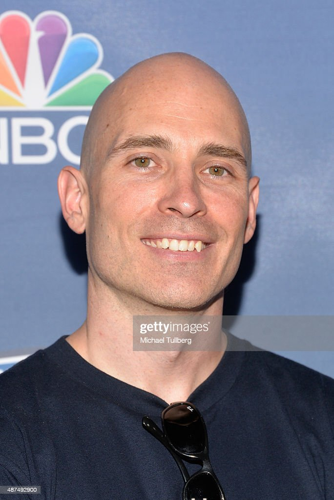 Contestant David Campbell attends NBC's 'American Ninja Warrior' Season 7 Finale at The Autry National Center on September 9, 2015 in Los Angeles, California.