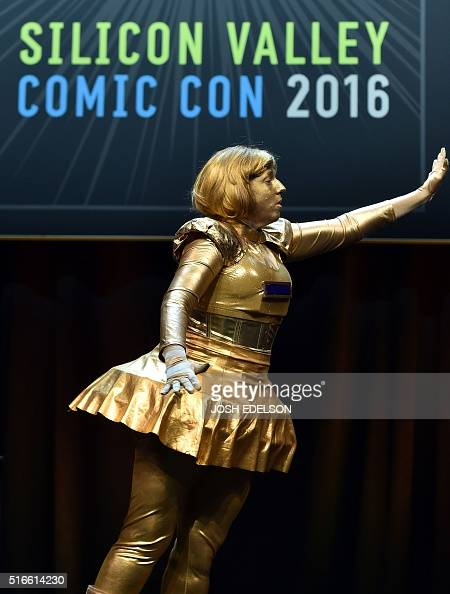 A Contestant Dressed As Dot Matrix From The Movie Spaceballs