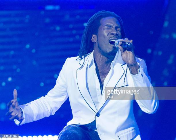 Contestant Ejyp Johnson in the Week 8 episode of SHOWTIME AT THE APOLLO airing Thursday April 19 on FOX