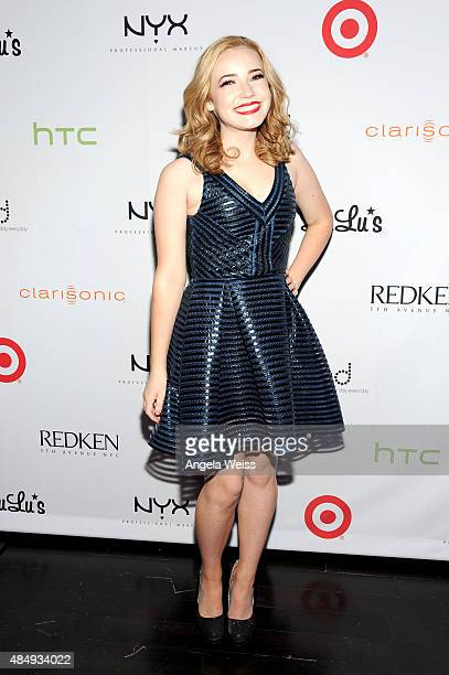 Contestant Erin Timony attends the 4th Annual NYX FACE Awards at Club Nokia on August 22 2015 in Los Angeles California