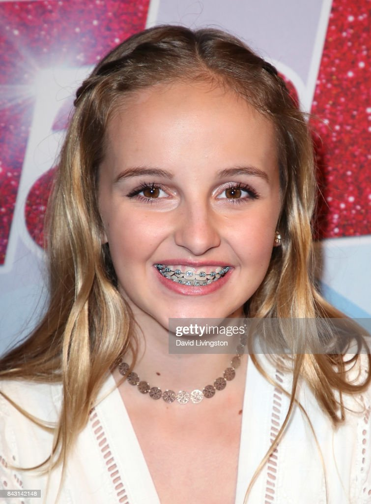 Contestant Evie Clair attends NBC's 'America's Got Talent' Season 12 live show at Dolby Theatre on September 5, 2017 in Hollywood, California.