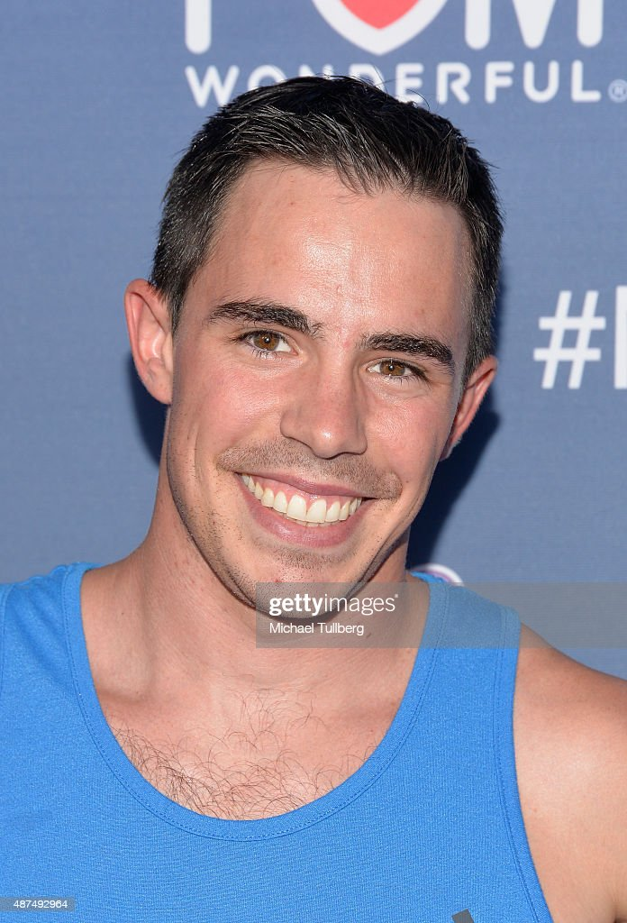 Contestant Ian Dory attends NBC's 'American Ninja Warrior' Season 7 Finale at The Autry National Center on September 9, 2015 in Los Angeles, California.