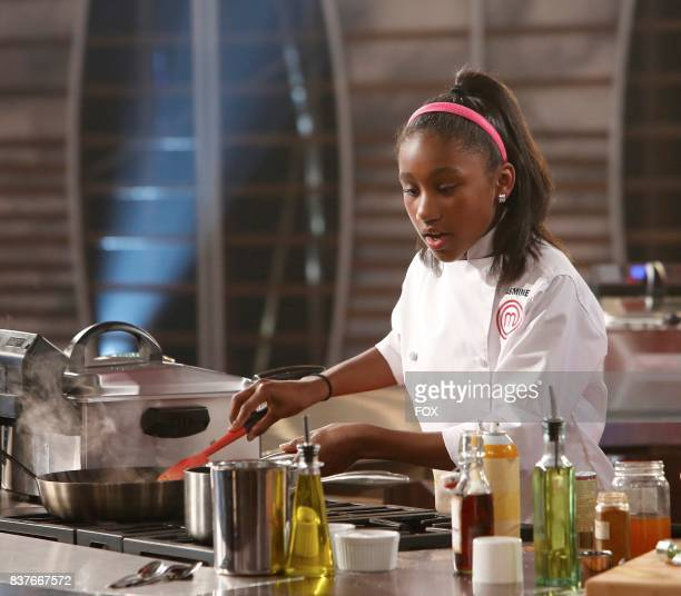 Contestant Jasmine in the allnew twohour Junior Edition The Semi Finals/Junior Edition Finale season finale episode of MASTERCHEF airing Thursday May...