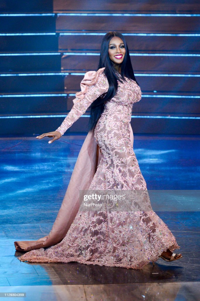 Contestant Jazell Barbie Royale of the USA competes during