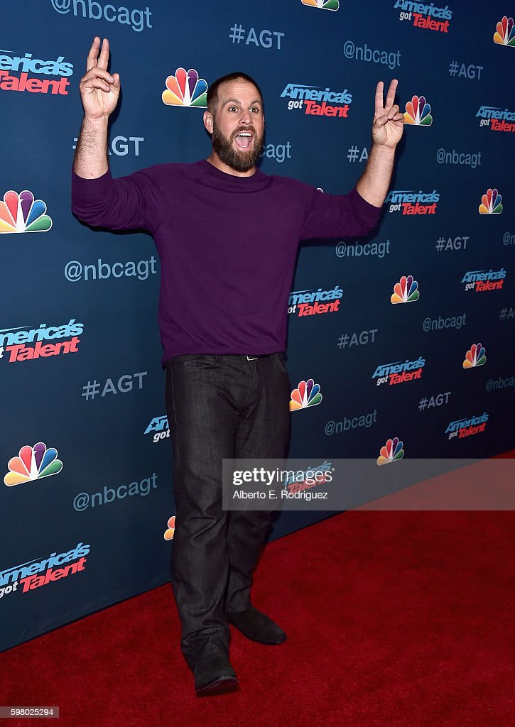 Contestant Jon Dorenbos attends the 'America's Got Talent' Season 11 Live Show at The Dolby Theatre on August 30, 2016 in Hollywood, California.