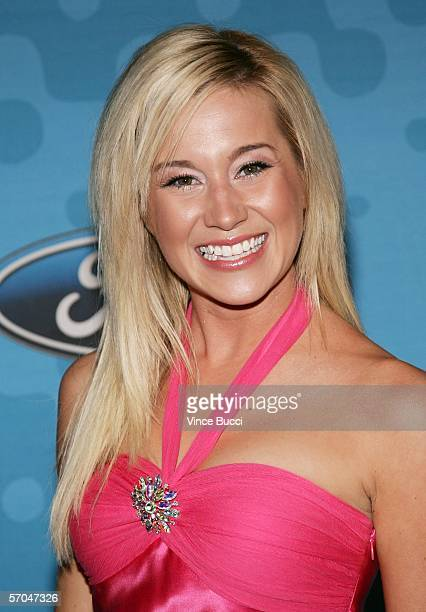 Contestant Kellie Pickler attends a party to celebrate the American Idol top 12 finalists on March 9 2006 at the Pacific Design Center in Los Angeles...
