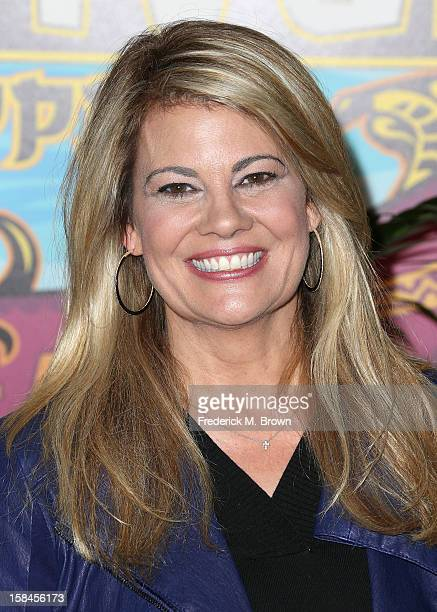 Contestant Lisa Whelchel attends CBS' Survivor Philippines Finale Reunion Red Carpet at CBS Television City on December 16 2012 in Los Angeles...