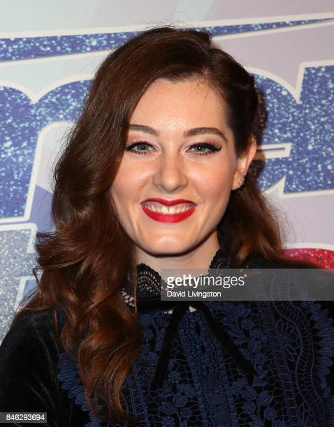 Contestant Mandy Harvey attends NBC's 'America's Got Talent' Season 12 live show at Dolby Theatre on September 12 2017 in Hollywood California