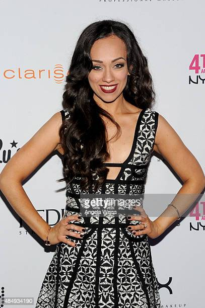 Contestant Rosy McMichael attends the 4th Annual NYX FACE Awards at Club Nokia on August 22 2015 in Los Angeles California