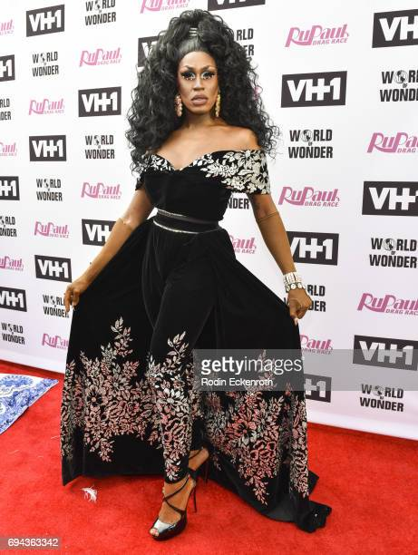 Contestant Shea Coulee attends 'RuPaul's Drag Race' Season 9 Finale Taping at Alex Theatre on June 9 2017 in Glendale California