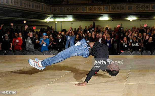 A contestant shows off his moves at the New York auditions for the 12th season of SO YOU THINK YOU CAN DANCE premiering summer 2015 on FOX