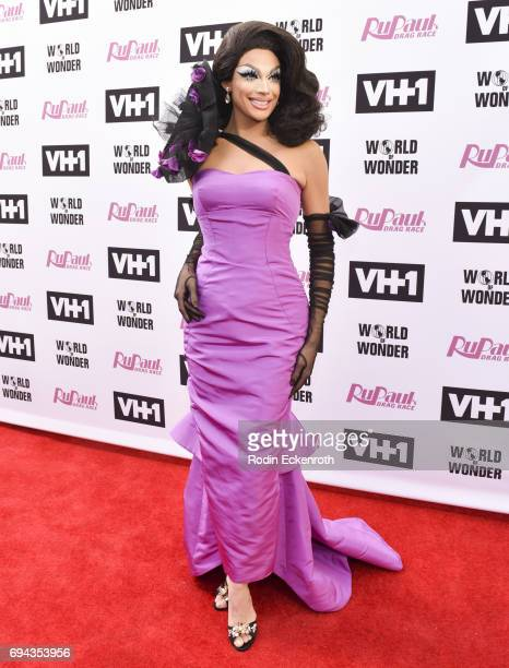 Contestant Valentina attends 'RuPaul's Drag Race' Season 9 Finale Taping at Alex Theatre on June 9 2017 in Glendale California